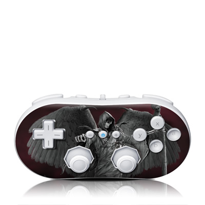 Wii Classic Controller Skin - Time is Up