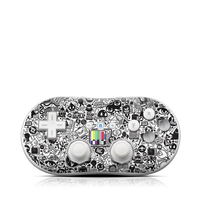 Wii Classic Controller Skin - TV Kills Everything
