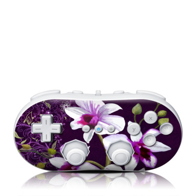 Wii Classic Controller Skin - Violet Worlds
