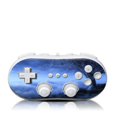 Wii Classic Controller Skin - World's Edge Winter