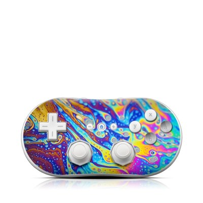 Wii Classic Controller Skin - World of Soap