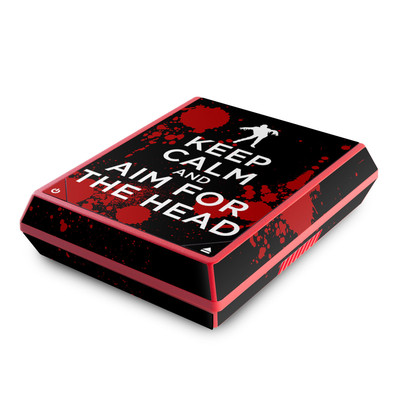 Nintendo Wii Mini Skin - Keep Calm - Zombie