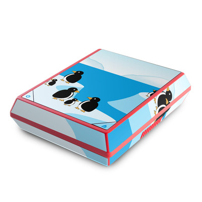 Nintendo Wii Mini Skin - Penguins