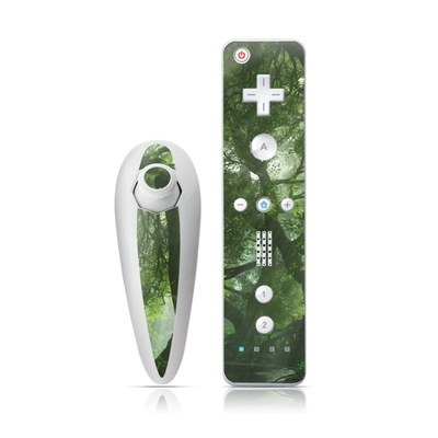Wii Nunchuk Skin - Canopy Creek Spring