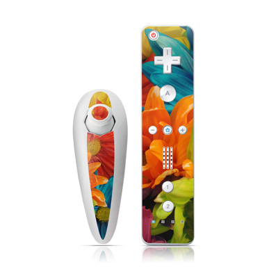 Wii Nunchuk Skin - Colours
