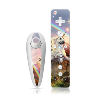 Wii Nunchuk Skin - Evening Star