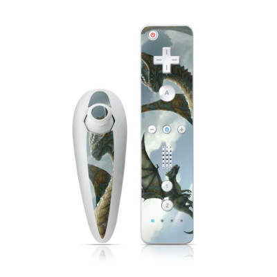 Wii Nunchuk Skin - First Lesson