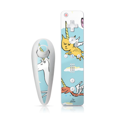 Wii Nunchuk Skin - Fly