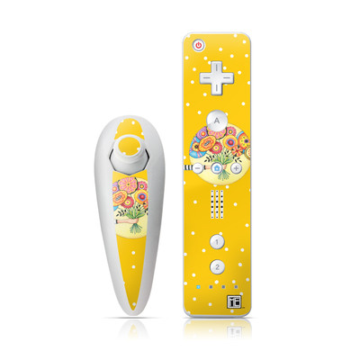 Wii Nunchuk Skin - Giving