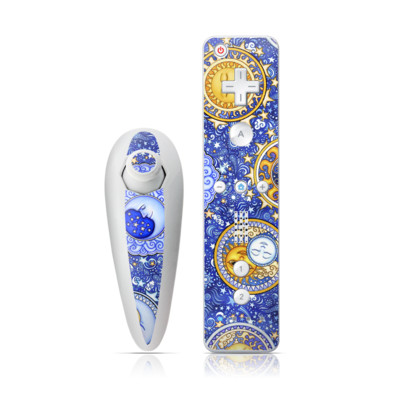 Wii Nunchuk Skin - Heavenly