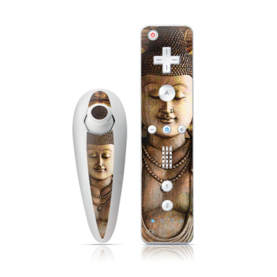 Wii Nunchuk Skin - Intentional Bliss