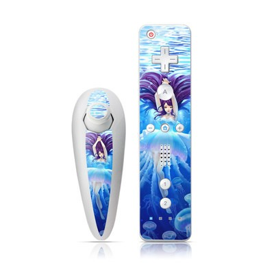 Wii Nunchuk Skin - Jelly Girl