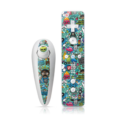 Wii Nunchuk Skin - Jewel Thief