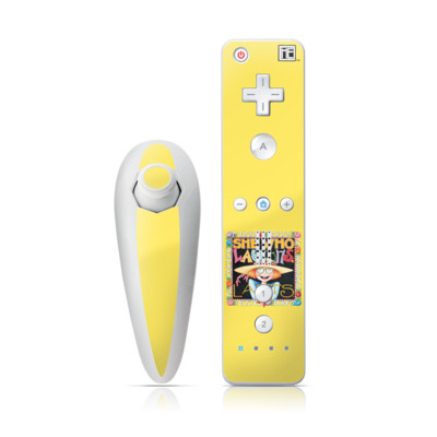 Wii Nunchuk Skin - She Who Laughs