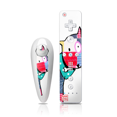 Wii Nunchuk Skin - Patch Dog