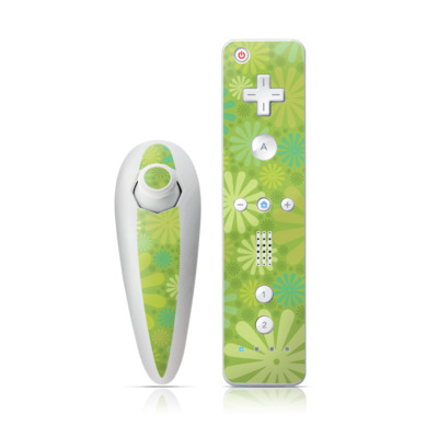 Wii Nunchuk Skin - Lime Punch