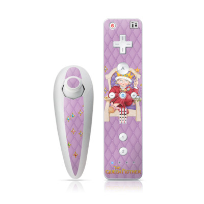 Wii Nunchuk Skin - Queen Mother
