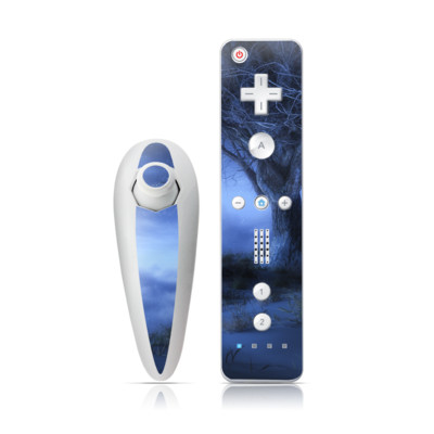 Wii Nunchuk Skin - World's Edge Winter