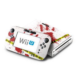 Wii U Skin - Crime Scene Revisited