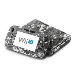 Wii U Skin - Digital Urban Camo