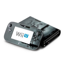 Wii U Skin - Flying Tree Black
