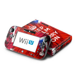 Wii U Skin - Keep Calm - Burst
