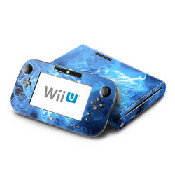Wii U Skin - Blue Quantum Waves