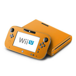 Wii U Skin - Solid State Orange