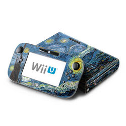 Wii U Skin - Starry Night