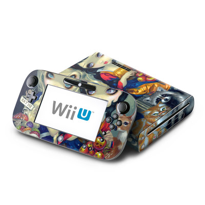 Wii U Skin - Alice & Snow White