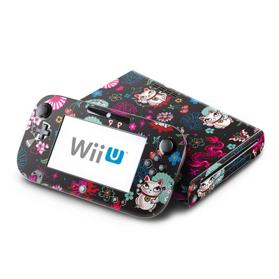 Wii U Skin - Geisha Kitty