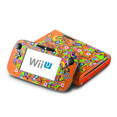 Wii U Skin - Orange Squirt