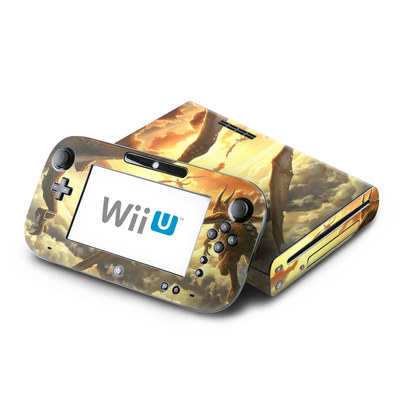 Wii U Skin - Over the Clouds