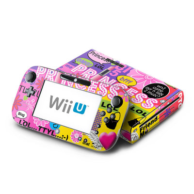 Wii U Skin - Princess Text Me