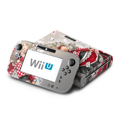 Wii U Skin - Queen Of Cards