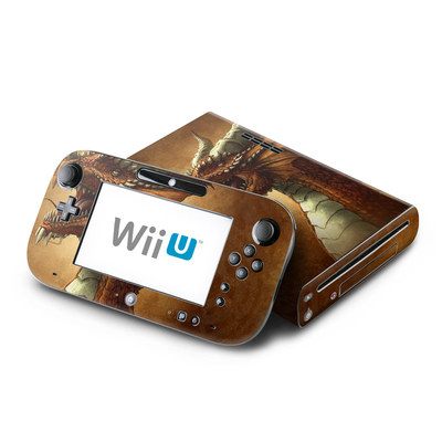 Wii U Skin - Red Dragon