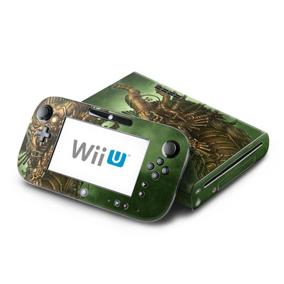 Wii U Skin - Steampunk Dragon