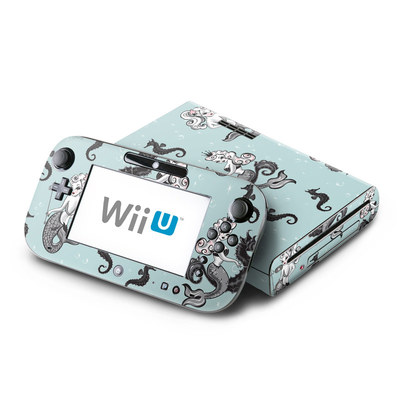 Wii U Skin - Vintage Mermaid