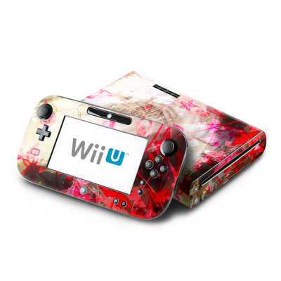 Wii U Skin - Woodflower