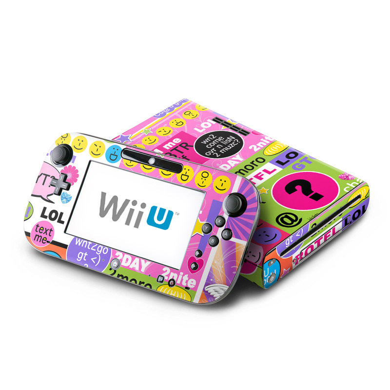 Wii U Games For Girls : Wii u skin bff girl talk by juleez decalgirl