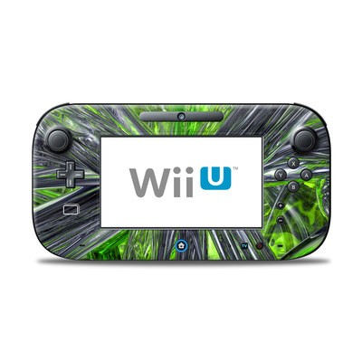 Wii U Controller Skin - Emerald Abstract