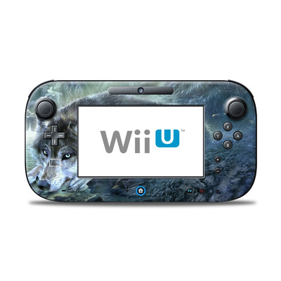 Wii U Controller Skin - Bark At The Moon