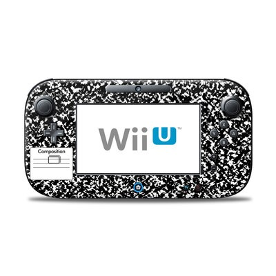 Wii U Controller Skin - Composition Notebook
