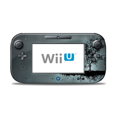 Wii U Controller Skin - Flying Tree Black