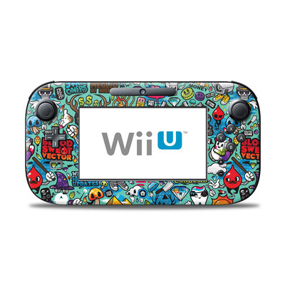 Wii U Controller Skin - Jewel Thief