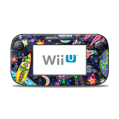 Wii U Controller Skin - Out to Space