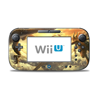 Wii U Controller Skin - Over the Clouds