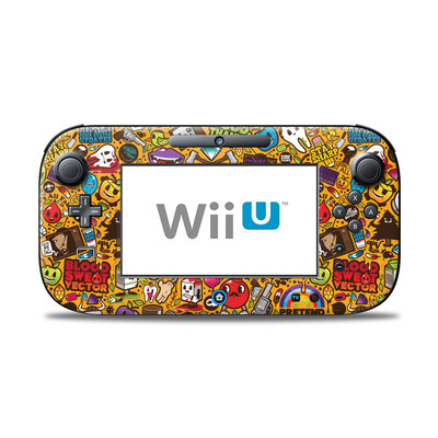 Wii U Controller Skin - Psychedelic