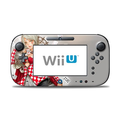 Wii U Controller Skin - Queen Of Cards