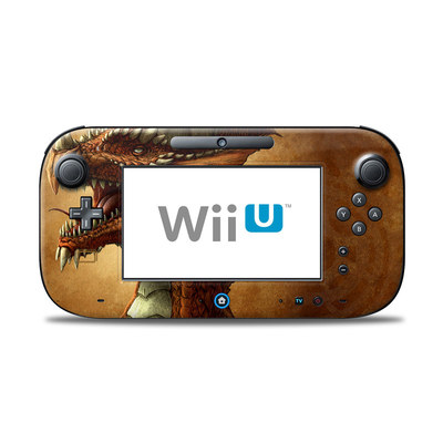 Wii U Controller Skin - Red Dragon